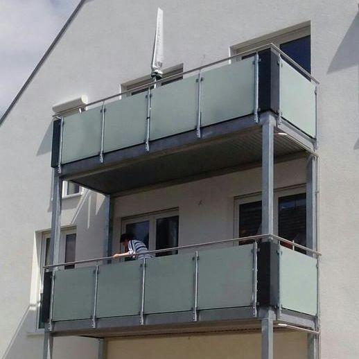 Balkon als Überdachung