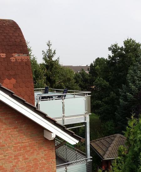 Balkonanlage Stahl