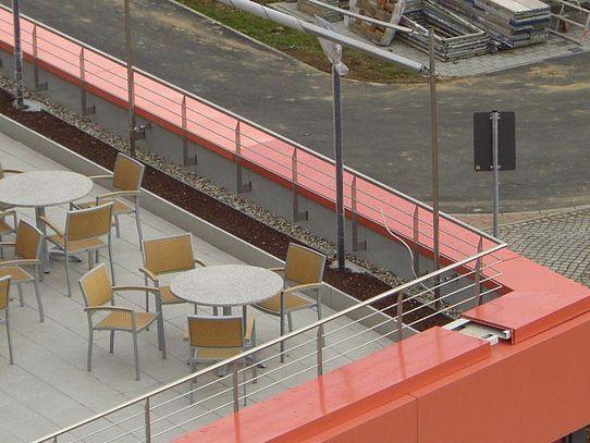 Dach Geländer