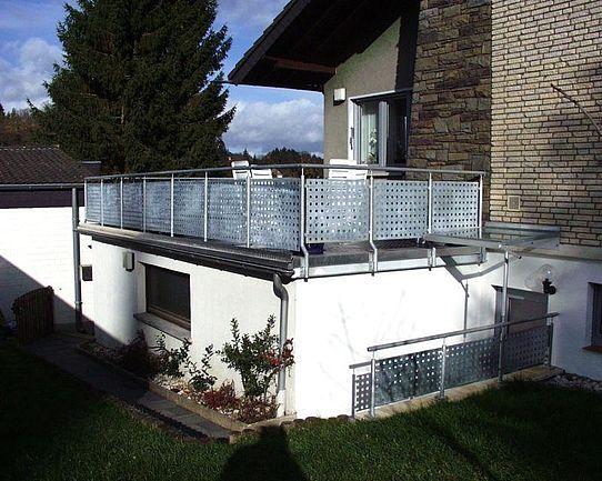 Sichtschutz für Balkon